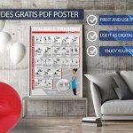 BALLON DE GYMNASTIQUE - Yoga, Pilates - Pompe comprise de la marque POWRX image 1 produit