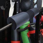 Barbell Pad Squat Pad Poids Pad Support Éponge pour Squats, Lunges et Hip Thrusts Coussin de protection pour le cou et l'épaule S'adapte aux barres standard et olympiques Choix des couleurs de la marque edealing image 6 produit