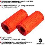 Beast Grips de Beast Gear – Thick Bar / Poignée Accessoire pour Augmenter le Diamètre d'une Barre d'Haltère, pour une Musculation Massive des Bras et Avant-bras et Avoir de Gros Muscles de la marque Beast Gear image 1 produit