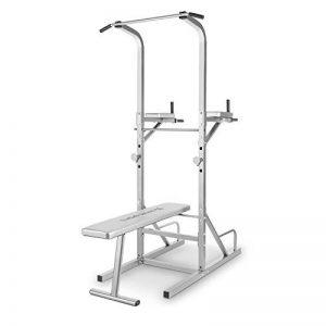 Capital Sports Spiris - Rack à squat multifonction avec banc repliable et supports pour haltères : chaise romaine, tractions, dips, pompes, développé-couchés de la marque Capital Sports image 0 produit