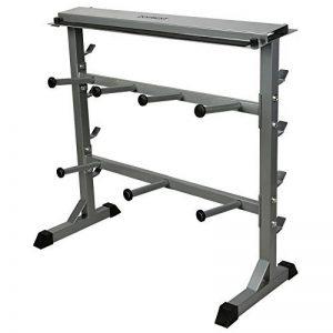 CCLIFE Support pour haltères support de poids repose haltères max. d'env. 300 kg rack de rangement pour poids et halteres de la marque CCLIFE image 0 produit