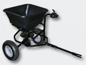 Epandeur 30 kg avec pneus à air / possibilité d'attache à un tracteur tondeuse de la marque WilTec image 0 produit