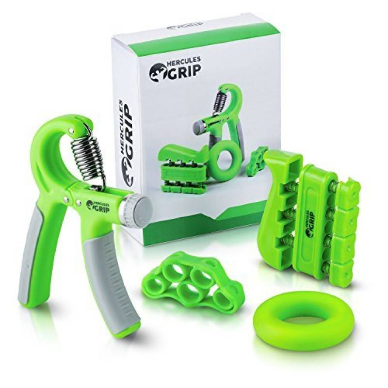 4 Pièce Main grip exerciser Set bracelet doigt Fortifiant Kit de formation Exercice