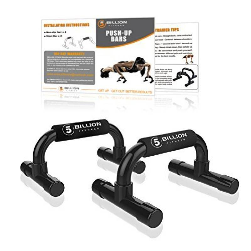be8ee71131dad 5BILLION Poignée de Pompe Poitrine Abdominale Exercice - Push Up Bars Stand  Sports accueil salle de gym exercise exercices de formation -  Antidérapantes ...