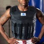 formation de poids Gilet réglable d'exercice fitness Gilet de poids 20kg/20kilogram Noir de la marque VSAIL image 6 produit