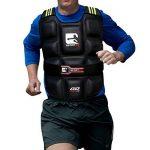 Gilet lesté réglable Pro Gym Training Course perte de poids Fitness Veste 6kg/10kg/12kg/14kg/20kg de la marque Sporteq image 2 produit