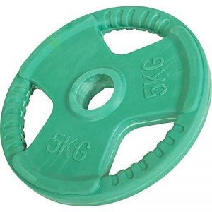 Gorilla Sports® Disque d'haltère 50/51mm olympique en caoutchouc Gripper de la marque Gorilla Sports image 0 produit