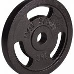 Hop-Sport Lot d'haltères en fonte 5kg, 10kg, 20kg, 30kg, 40kg, épaisseur 30mm de la marque Hop-Sport image 1 produit