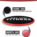 Iron Core Fitness Lot de 2 disques de fitness glissants double face pour entrainement du corps entier et des abdominaux convient à toutes les surfaces de la marque Iron Core Fitness image 3 produit