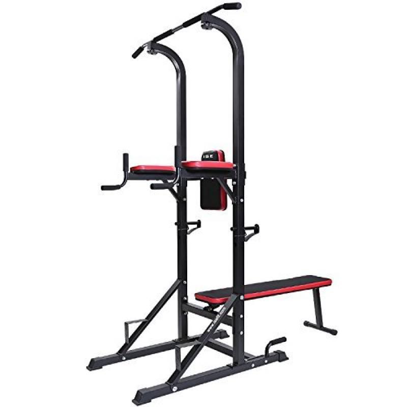 SucceBuy Banc de Musculation Halt/érophilie Barre Appareil de Musculation Station Poids Musculation