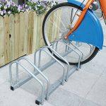 Jago - Râtelier Range-Vélo pour 3/4/5 Vélos Rack à Vélos en Fer (Taille au Choix) de la marque Jago image 4 produit