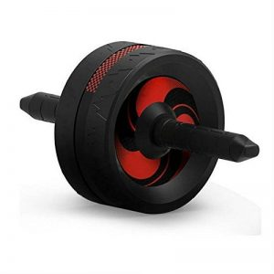 JAYLONG Ab Roller exercice large et épais roue parfaite pour la perte de poids Portable Quiet Home Gym Fitness Workout avec genouillère Mat et mousse poignées détachables pour hommes et femmes de la marque JAYLONG image 0 produit