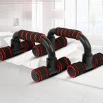kingt Chaise longue Poignées d'appui Chaise longue Poignées d'appui pour l'entraînement muscles et dos Push Up Stand Bar Pompes hsh01r de la marque Kingt image 4 produit