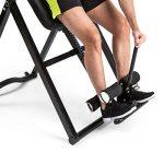 Klarfit Ease Delux • Table d'inversion • Banc d'inversion max 136kg • Revêtement pour massage dorsal avec fonction chauffante • Réglable avec un angle d'inversion de 20, 40 et 60° • Pour des tailles de 1,54-1,98m de la marque Klarfit image 6 produit