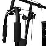 Klarfit Ultimate Gym 3000-5000 • Appareil Multifonction musculation • Entrainement complet • Station fitness permettant exercices divers • Structure robuste • Câble en métal avec revêtement plastique de la marque Klarfit image 5 produit