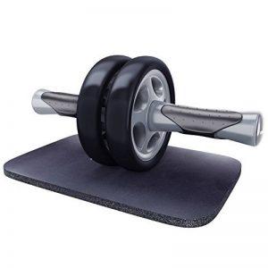 KYLIN SPORT Roue Abdominale AB Wheel Roller Pro de Fitness et Musculation de Corp-Appareil Abdominal Munit d'Un Tapis Epais pour Genoux de la marque KYLIN SPORT image 0 produit