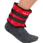 MOVIT® - Lot de 2 bracelets poids lestés pour chevilles et poignets - 2x 0,5 kg á 4,0 kg Couleurs différent de la marque MOVIT® image 4 produit