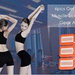 Ning Erica Electrostimulateurs ABS Remplacement Feuille De Gel Pour Muscle Trainer Ceinture Abdominale Tonifiante Pads De Gel Accessoires de la marque Ning image 4 produit