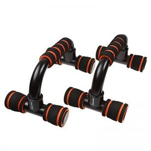 Poignées de Pompe, IDEAPRO 1 Paire Antiglissante Push Up Bars Poignées d'appui pour Musculation des Bras, Épaules, Poitrine, Dos, Triceps (Noir) de la marque IDEAPRO image 0 produit