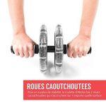 Proworks Roulette Pour Exercices D'Abdos I Double Abdominale Machine Avec Tapis Pour Musculation et Activités Sportives de la marque Proworks image 3 produit