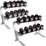 Rack de rangement pour haltères Gorilla Sports PRO de la marque Gorilla Sports image 4 produit