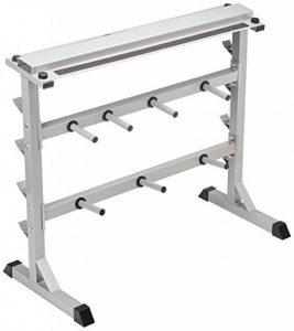 Rack de rangement pour poids et haltères 30/31mm - NOIR ou BLANC de la marque Gorilla Sports image 0 produit