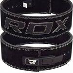 RDX Dynamophilie Ceinture Cuir Vachette Boucle Musculation Fitness Bodybuilding Lifting Belt Lombaire Halterophilie de la marque RDX image 1 produit