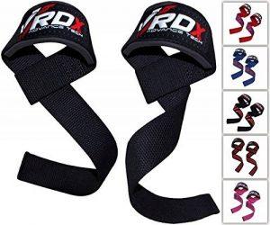 RDX Sangle Musculation Gym Poignet Support Fitness Straps Lifting Crossfit Entraînement Haltérophilie de la marque RDX image 0 produit