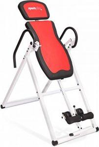Sportplus Table d'Inversion/Gravity Trainer avec le Système Perfect-Balance - Poids de l'Utilisateur jusqu'à 135 kg - Taille jusqu'à 199 cm - Normé EN ISO 20957-1 de la marque Sportplus image 0 produit