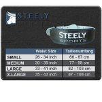 Steely-Sports Ceinture à poids de levage Taille: S-M-L-XL-XXL // Bodybuilding Equiment de la marque SteelySports image 3 produit