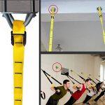 Support Mural /Plafond de Montage, X-mount Fixation Murale Disque en Fer (inox), pour faire du Sport,Yoga, Suspension Entraînement dans la Maison ou Gymnase de la marque zhengenevolent image 2 produit