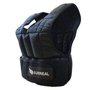 surréaliste Gilet lesté réglable 5/10/15/20/30kg pour perte de poids de formation Gym de la marque Surreal image 0 produit