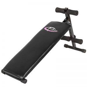 TecTake Banc de musculation pour muscles abdominaux 120 cm x 33 cm x 63 cm appareil de fitness sport de la marque TecTake image 0 produit