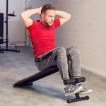 TecTake Banc de musculation pour muscles abdominaux 120 cm x 33 cm x 63 cm appareil de fitness sport de la marque TecTake image 1 produit