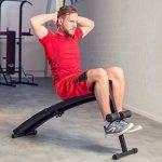 TecTake Banc de musculation pour muscles abdominaux appareil de fitness sport pliable de la marque TecTake image 1 produit