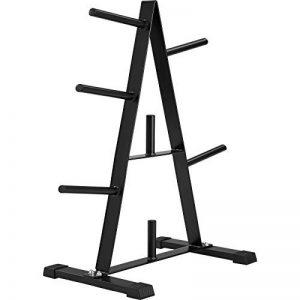 TecTake Rack de rangement pour poids et haltères | Diamètre tige pour disques 25 mm | Capacité de charge à 200 kg de la marque TecTake image 0 produit
