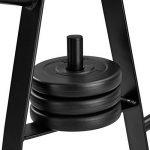 TecTake Rack de rangement pour poids et haltères | Diamètre tige pour disques 25 mm | Capacité de charge à 200 kg de la marque TecTake image 4 produit