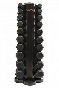 Tunturi 14TUSCL200 Rack pour Haltère Mixte Adulte, Noir, Taille Unique de la marque Tunturi image 0 produit
