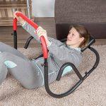 Ultrasport AB Trainer, un appareil pour abdominaux professionnel pour travailler intensivement ses abdominaux à la maison. Pliable, il est peu encombrant une fois rangé après l'entraînement de la marque Ultrasport image 3 produit