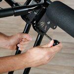 Ultrasport Appareil pour abdominaux Ultra 150 - Power AB Trainer, appareil de fitness à domicile pour accompagner un régime, renforcer les muscles abdominaux ainsi que le dos et les épaules, pliable de la marque Ultrasport image 3 produit