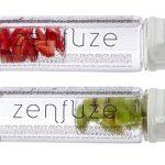 Unique 3 en 1 Premium ZENZUZE Bouteille d'eau SPORT avec infuseur à fruits - Sans BPA avec couvercle de verrouillage « Flip Top » avec bec verseur extra large pour se rafraîchir rapidement de la marque Genevieve Avani image 2 produit