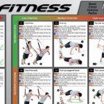 Variosling® Poster avec 54 exercices pour un entraînement fonctionnel avec les sangles de suspension / Sling-Trainer | instruction de la musculation bipartite, grande de la marque Variosling image 2 produit