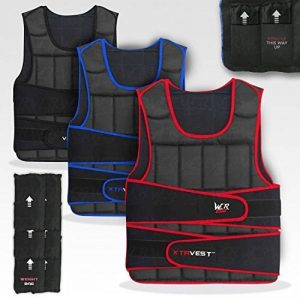 XTR Poids Gilet 5,10,15,20,30 Réglable Pondéré Gilet Perte Fonctionnement Gym Formation de la marque We R Sports image 0 produit
