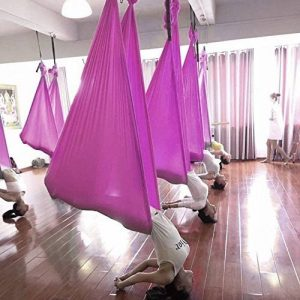 Yaekoo Aerial Yoga Swing – Ultra résistante Antigravity Yoga Hamac/Sling/outil d'inversion pour exercices de yoga d'inversion d'air de la marque YaeKoo image 0 produit
